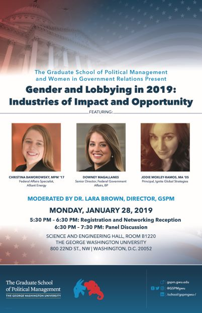Gender and Lobbying in 2019
