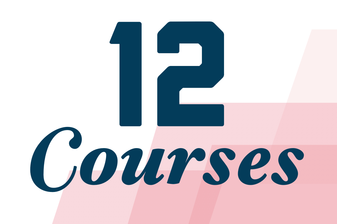 12 Courses