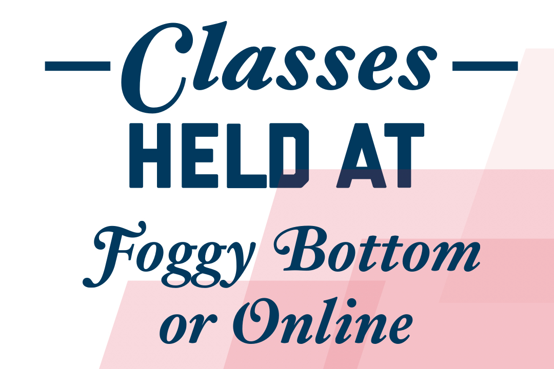Classes in DC or Online