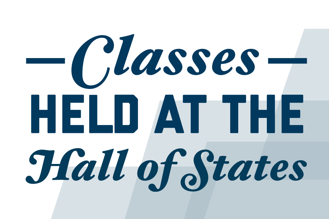 Classes Held at Hall of the States