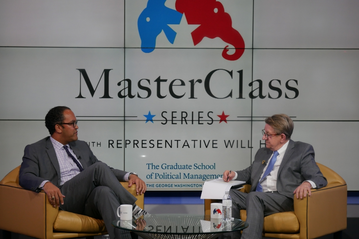 Rep. Will Hurd speaks at the GSPM MasterClass